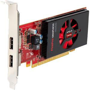AMD 100-505980 FirePro W2100 Graphic Card - 2 GB GDDR3 - PCI-E 3.0 x16 - Low-profile - Single Slot