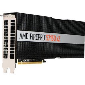 AMD 100-505722 FirePro S7150 X2 Graphic Card - 2 GPUs - 920 MHz Core - 16 GB GDDR5 - PCI-E 3.0