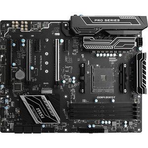 MSI X370 SLI PLUS Desktop Motherboard - AMD Chipset - Socket AM4
