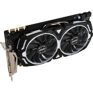 MSI GTX 1080 ARMOR 8G OC GeForce GTX 1080 Graphic Card - 1.66 GHz Core - 8GB GDDR5X - PCI-E 3.0 x16
