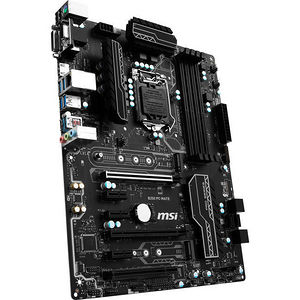 MSI B250 PC MATE Desktop Motherboard - Intel Chipset - Socket H4 LGA-1151