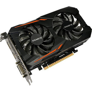 GIGABYTE GV-N105TOC-4GD GeForce GTX 1050 Ti Graphic Card - 1.34 GHz Core - 4 GB GDDR5