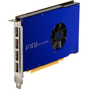AMD 100-505940 Radeon Pro WX 5100 Graphic Card - 713 MHz Core - 8 GB GDDR5 - Single Slot