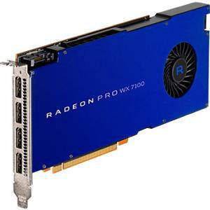 AMD 100-505826 Radeon Pro WX 7100 Graphic Card - 1.19 GHz Core - 8 GB GDDR5 - Single Slot