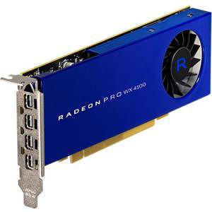 AMD 100-506008 Radeon Pro WX 4100 Graphic Card - 1.13 GHz Core - 4 GB GDDR5 - PCI-E 3.0 x16 - LP