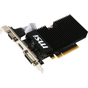 MSI GT 710 1GD3H LPV1 GeForce GT 710 Graphic Card - 954 MHz Core - 1 GB DDR3 SDRAM - PCI-E 2.0 x8