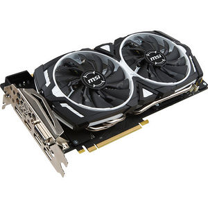 MSI GTX 1070 ARMOR 8G OC ARMOR GeForce GTX 1070 Graphic Card - 1.56 GHz - 8GB GDDR5 - PCI-E 3.0 x16
