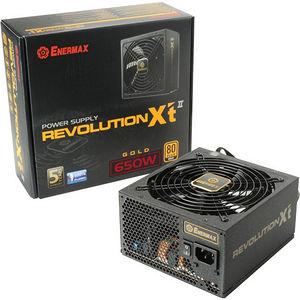 Enermax ERX650AWT Revolution-X't II ATX12V & EPS12V 650W Power Supply