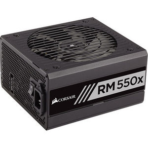 Corsair CP-9020090-NA RMx Series RM550x - 550 Watt 80 PLUS Gold Certified Fully Modular PSU