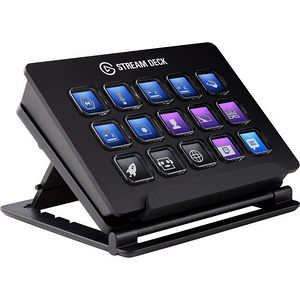 Elgato 10025500 Stream Deck LCD Keyboard - Live Content Creation Controller
