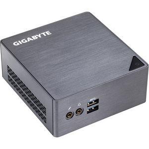 GIGABYTE GB-BSI7-6500 BRIX Mini PC - Intel Core i7 i7-6500U 2.50 GHz DDR3L SDRAM - Gray