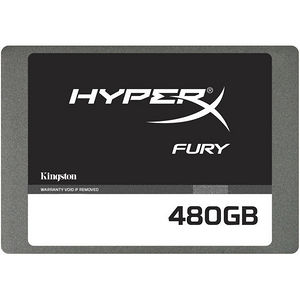 "Kingston SHFS37A/480G Hyperx FURY 480 GB 2.5"" Internal Solid State Drive - SATA"