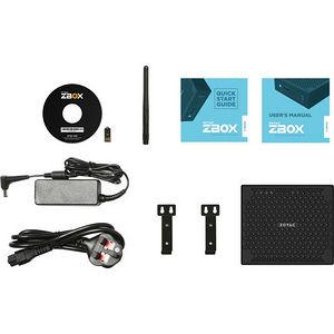 ZOTAC ZBOX-CI547NANO-U ZBOX nano C - Intel Core i5 (7th Gen) i5-7200U 2.50 GHz DDR4 SDRAM - Mini PC