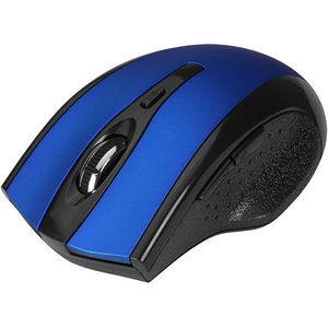 SIIG JK-WR0B12-S2 6-Button Ergonomic Wireless Optical Mouse - Blue