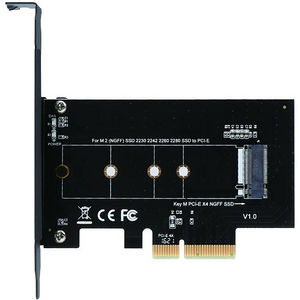 SIIG SC-M20014-S1 M.2 NGFF SSD PCIe Card Adapter