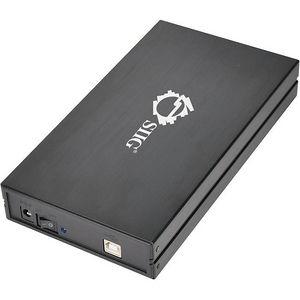 """SIIG JU-SA0E12-S1 Hi-Speed USB 2.0 Enclosure for 3.5"""" SATA 3Gb/s Hard Disks"""