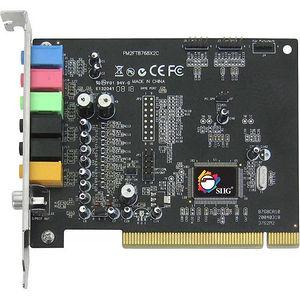 SIIG IC-710012-S2 SoundWave 7.1 PCI Sound Board