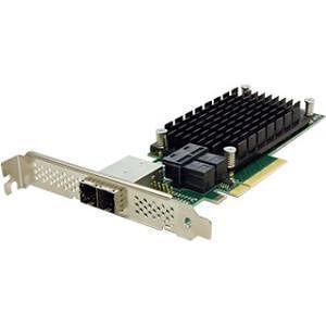 ATTO ESAH-1288-000 ExpressSAS RAID 8-Port Ext/Int 12Gb SAS/SATA to x8 PCIe 3.0 Host Bus LP Adapter