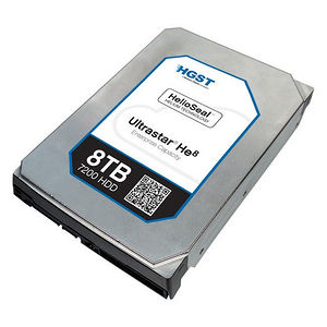 "HGST 0F23268-20PK Ultrastar He8 HUH728080AL5200 8 TB 3.5"" Internal Hard Drive - 20 Pack"