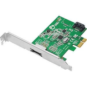 SIIG SC-SA0N11-S1 DP eSATA 6Gb/s 2-Port PCIe i/e