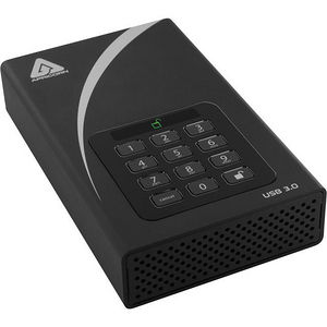 "Apricorn ADT-3PL256-1000 Aegis Padlock 1 TB 3.5"" External Hard Drive"