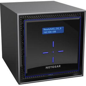 NETGEAR RN424D4-100NES ReadyNAS 424, Desktop 4-bay, 4x4TB Desktop HDD