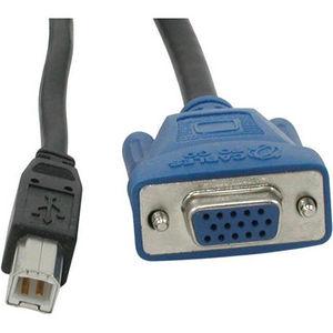 C2G 14176 10ft USB 2.0 + SXGA KVM Cable
