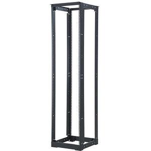 C2G 14592 45U 4-Post Adjustable Open Frame Rack with M6 Rails-21-32in Depth(TAA Compliant)