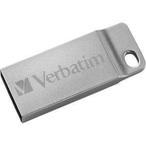 Verbatim 98748 16GB Metal Executive USB Flash Drive - Silver