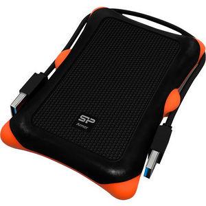"""Silicon Power SP010TBPHDA30S3K Armor A30 1 TB 2.5"""" External Hard Drive - Portable"""