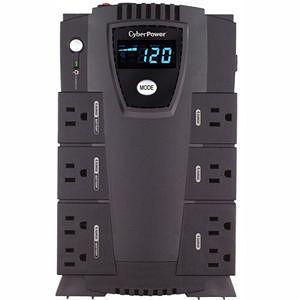 CyberPower CP600LCD Intelligent LCD 600 VA Desktop UPS