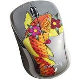 Verbatim 98615 Wireless Notebook Multi-Trac Blue LED Mouse, Tattoo Series