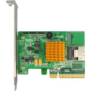 HighPoint RR2710 RocketRAID 2710 4-port SAS RAID Controller