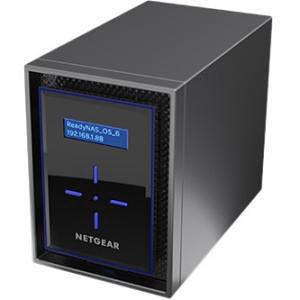 NETGEAR RN422D4-100NES ReadyNAS 422, Desktop 2-bay, 2x4TB Desktop HDD