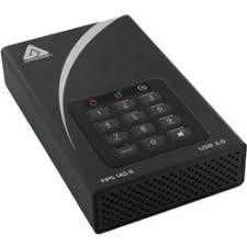 "Apricorn ADT-3PL256F-4000 Aegis Padlock DT FIPS 4 TB 3.5"" External Hard Drive - Desktop"