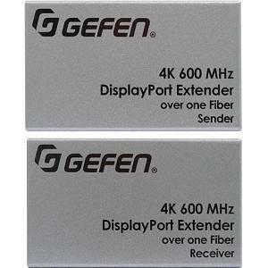 Gefen EXT-DP-4K600-1SC Ultra HD 600MHz DP 1.2 Extender over one SC-Terminated FiberOptic Cable