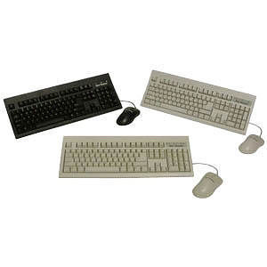 KeyTronic KT800U2M USB Keyboard & Optical Mouse Combo