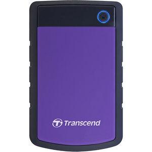 """Transcend TS2TSJ25H3P StoreJet 25H3P 2 TB 2.5"""" External Hard Drive - SATA - Portable"""