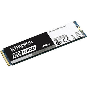 Kingston SKC1000/480G 480 GB Internal Solid State Drive - PCI Express - M.2 2280