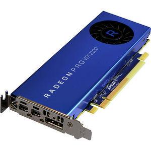 AMD 100-506001 Radeon Pro WX 2100 Graphic Card - 2 GB GDDR5 - Low-profile - Single Slot